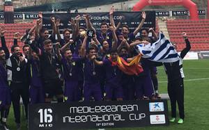 El Málaga, campeón por tercera vez seguida
