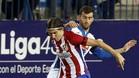 Leo Baptistao completó ante el Atlético un gran partido