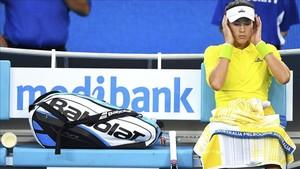 Garbiñe Muguruza buscará un puesto en los octavos de final ante Anastasija Sevastova
