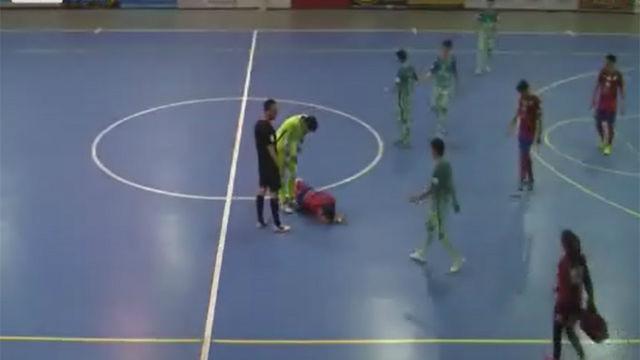El gesto de fair play del Barça B de fútbol sala