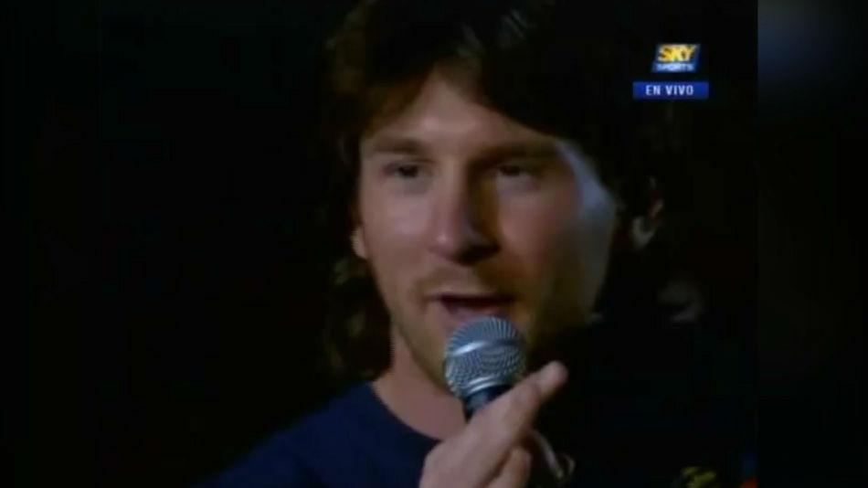 El vídeo que usará la AFA para defender a Messi