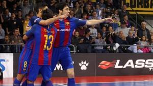 El Barça Lassa logró una victoria muy trabajada
