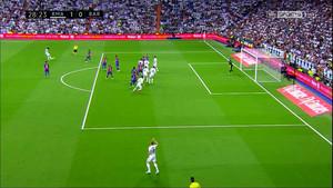 La jugada del gol de Casemiro