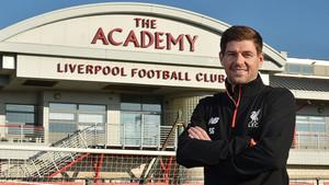 El peso de Gerrard en la Academia red va en aumento