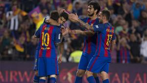 El Barça ganó al Eibar pero no le sirvió para ganar la Liga