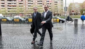 Sandro Rosell ha sido detenido en un operación contra el blanqueo de dinero