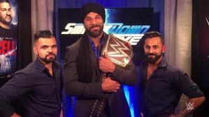 Jinder Mahal retó a Brock Lesnar