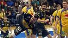 Alex Dujshebaev, en la reciente victoria de los 'Hispanos' ante Suecia por 32-22