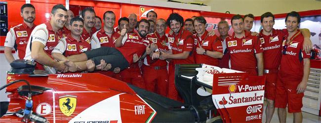 Arranca la revoluci�n en Ferrari