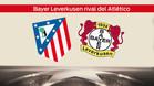 El Atlético se enfrentará al Bayer Leverkusen en octavos.