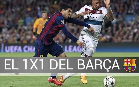 El Bar�a gole� al Bayern en un partido apasionante
