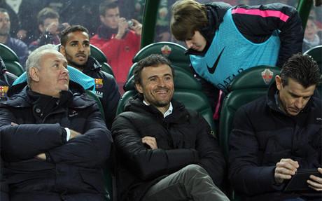 El FC Barcelona de Luis Enrique suma ya nueve victorias consecutivas lejos del Camp Nou