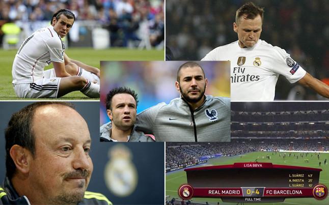 La temporada del Real Madrid a trav�s de cinco rid�culos hist�ricos