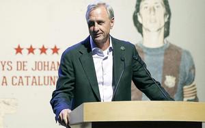 Cruyff volverá a verse las caras con Bartomeu en un acto