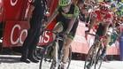 Dani Martin se impuso en Cazorla en la Vuelta 2015