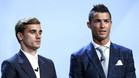 Griezmann y Cristiano Ronaldo están nominados