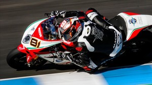 Jordi Torres con MV Augusta en Superbike