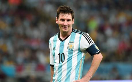 Lionel Messi scored a brilliant goal