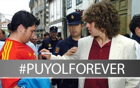Mu�stranos tus fotos con Puyol