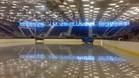 La pista de hielo del Fòrum de Barcelona presenta un aspecto magnífico