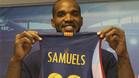 El p�vot jamaicano Samuels abandona el FC Barcelona