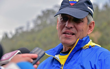 Reinaldo Rueda, seleccionador ecuatoriano