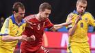 Ucrania gan� a Hungr�a por 3-6 y clasific� a Espa�a