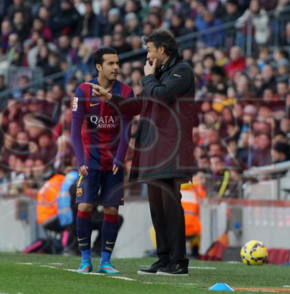 صور : مباراة برشلونة - ملقا  0-1 ( 21-02-2015 )  1424541257764