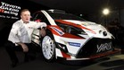 Tommi Makknen toyota Yaris WRC