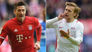 Lewandowski y Forsberg vieron puerta en sus respectivos compromisos