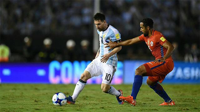 Resumen: Argentina - Chile (1-0)