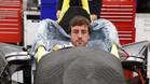 Alonso, haciéndose el asiento en Andretti Autosport