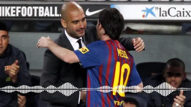 El elogio de Guardiola a Messi