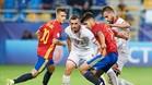Asensio y Denis Suárez destacaron en la victoria española