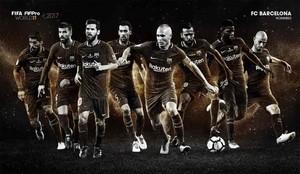 El Barça tiene ocho aspirantes al FIFA FIFPro World11 2017