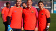 Jasper Cillessen has already taken part in first Barcelona training session