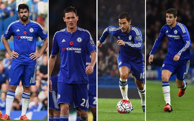 Mourinho quiere vender a Hazard, Oscar, Matic y Diego Costa