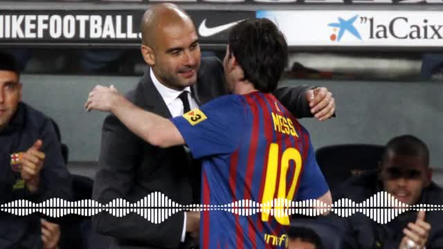 El elogio de Guardiola a Messi