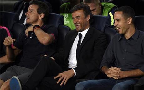 Luis Enrique cuenta sus partidos oficiales por victorias