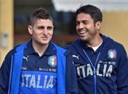 Marco Verratti se reunió con el PSG