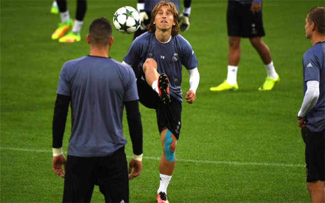 Modric ser� baja en el Real Madrid