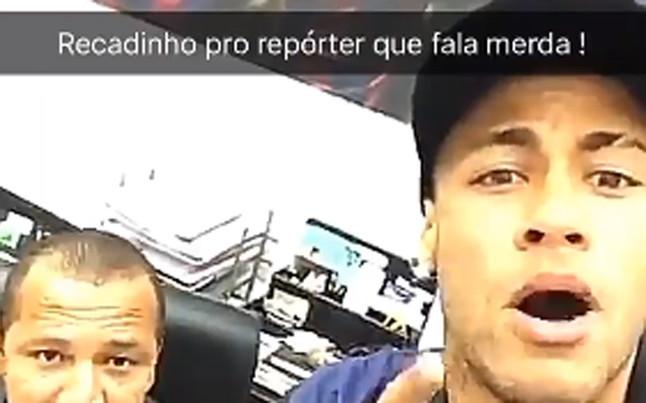 """Neymar, a Manolo Lama: """"Eres bobo, hablas mierda"""""""