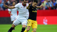 Sevilla 1-0 Atletico Madrid: N'Zonzi sends Andalusians top