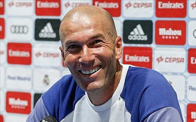 Zidane compareci� en Columbus