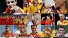 Las 17 medallas de España