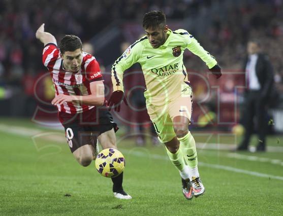 صور : مباراة أتليتيكو بلباو - برشلونة  2-5 ( 08-02-2015 ) 1423435048074