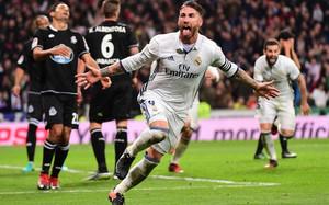 Ramos volvió a ser el héroe para el Madrid