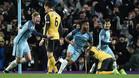 El gol de Sterling acabó dando los tres puntos al Manchester City