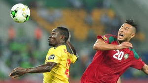 Aziz Bouhaddouz inició la remontada de Marruecos ante Togo