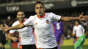 Orellana marcó el 2-0 del Valencia